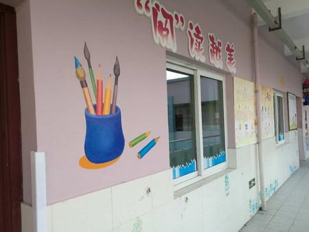 宜春幼儿园外墙绘画,宜春美丽乡村墙画手绘,宜春背景墙,宜春墙体壁画